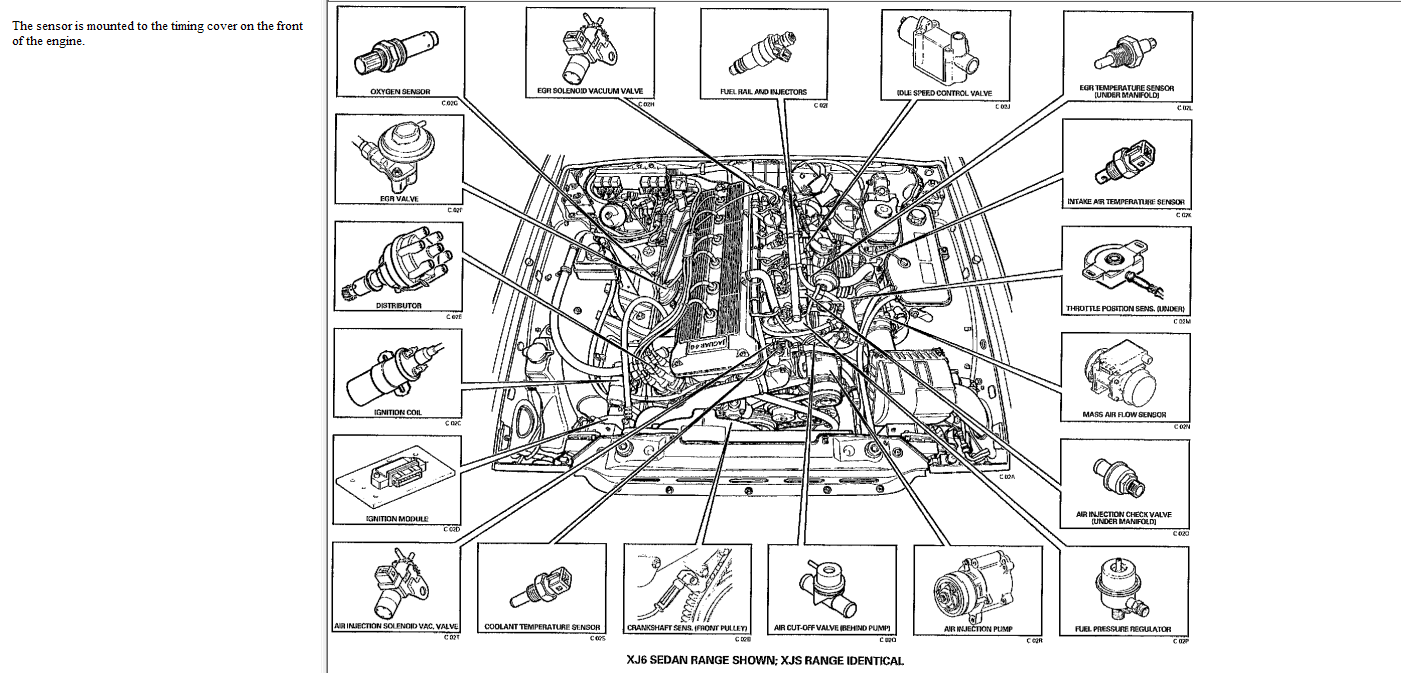 pin jaguar v12 engine diagram on pinterest