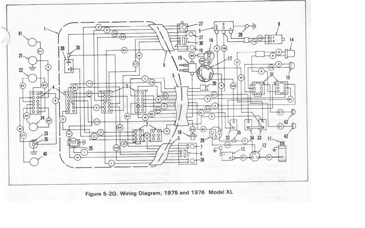 Harley Sportster Full Diagram Harley Free Engine Image