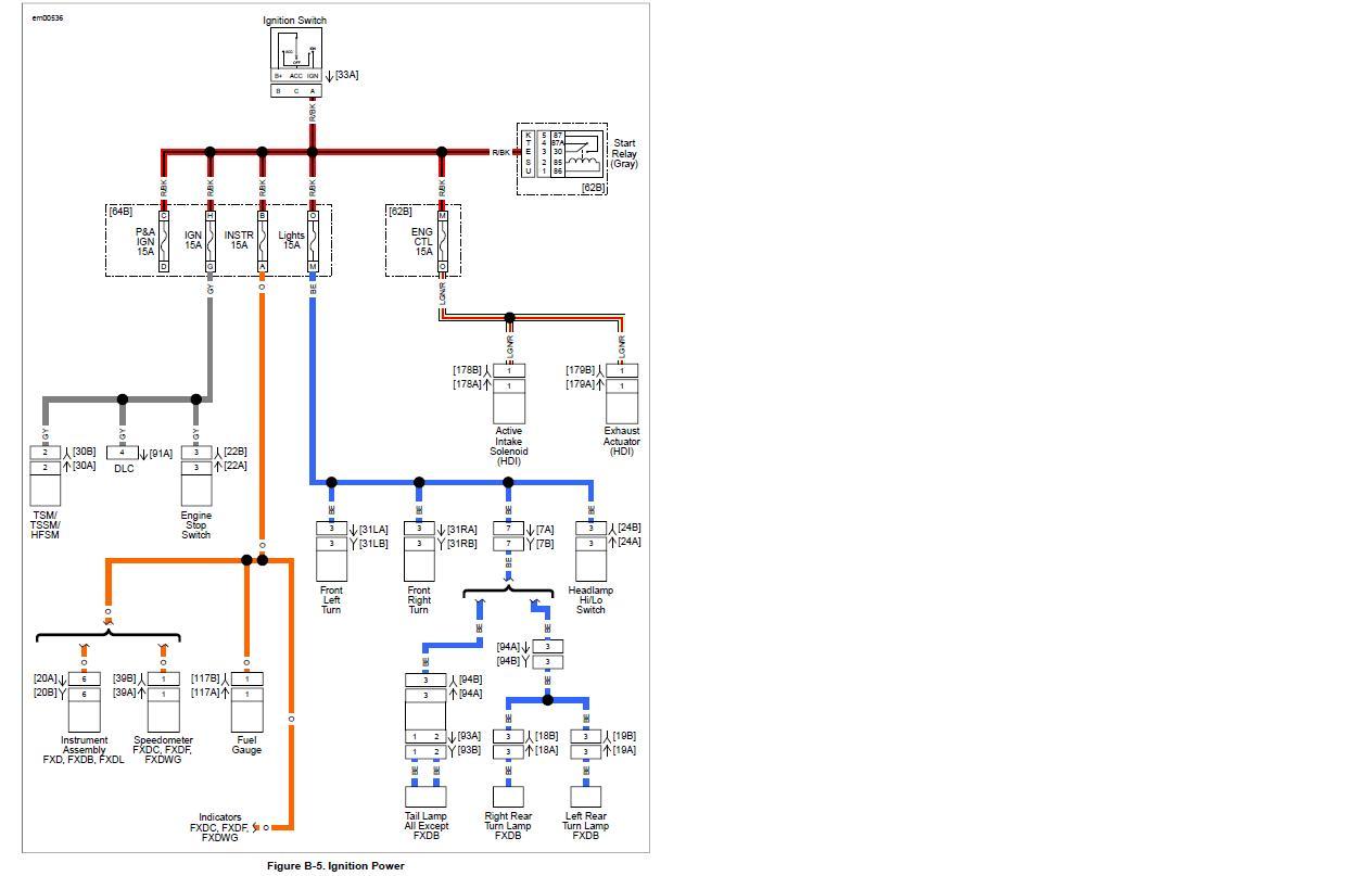 Harley Davidson Turn Signal Wiring Diagram : Simple chopper wiring diagram harley hand controls