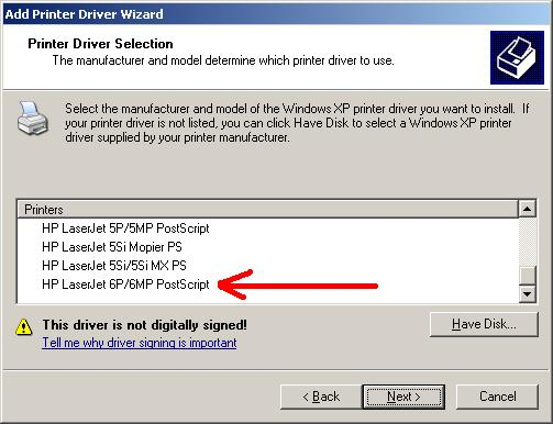 Hp Laserjet 6p Windows 7 Driver