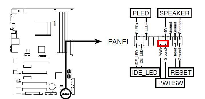 lcd1935nxm  my computer shuts off a second after starting