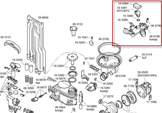 miele dishwasher wiring diagram miele vacuum cleaner parts