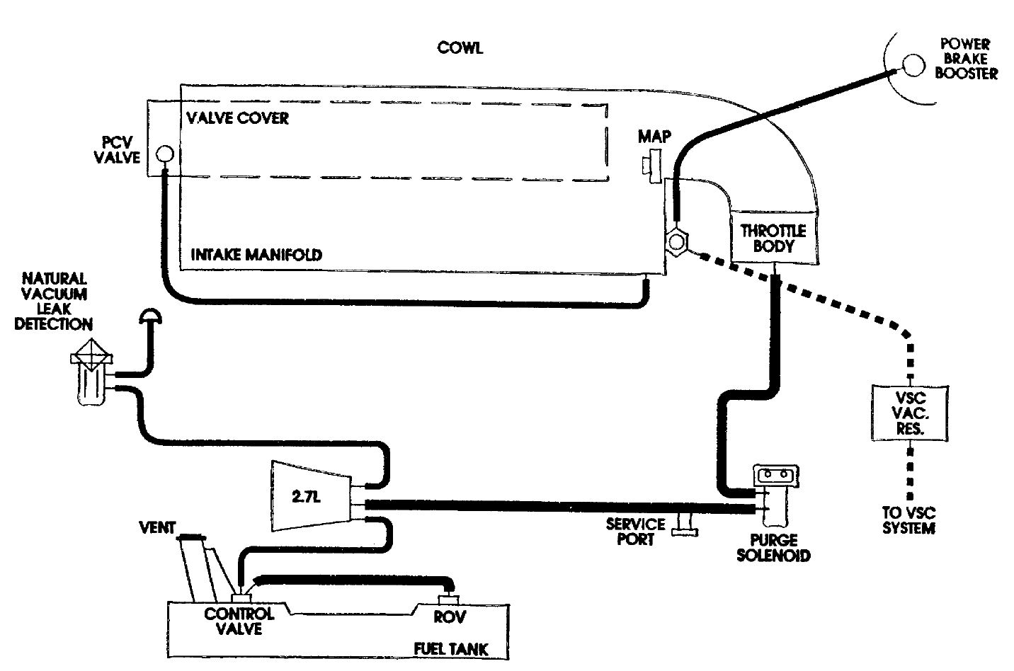 2000 chrysler cirrus vacuum line diagram  2000  free