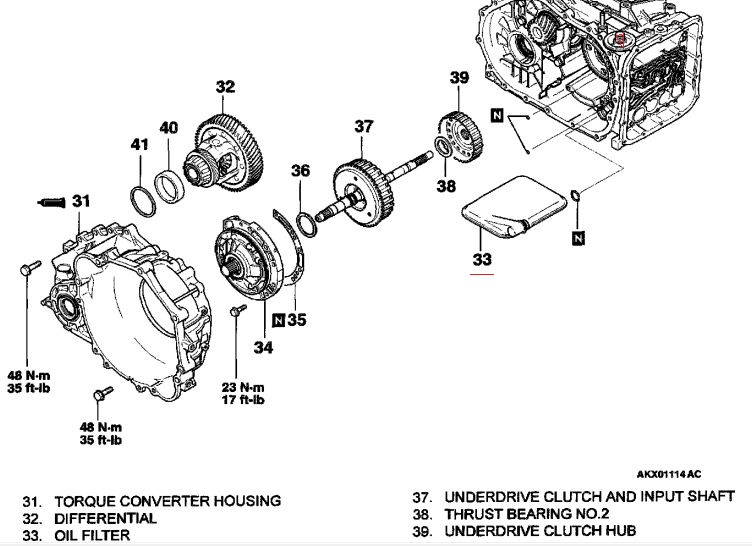 2002 mitsubishi diamante transmission diagram