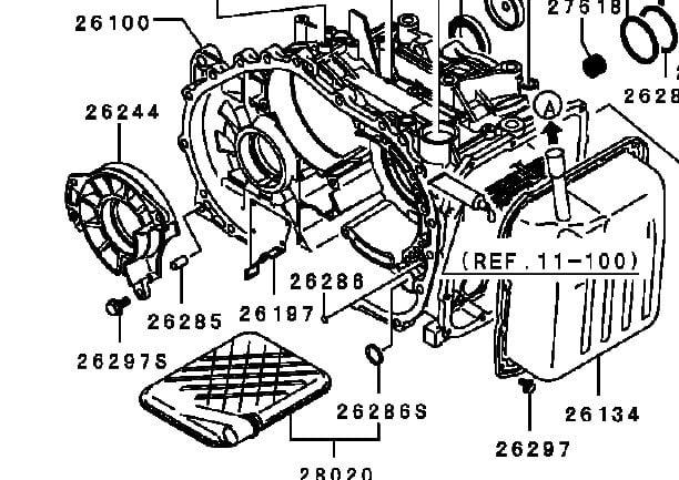 what type of transmission fluid for mitsubishi lancer