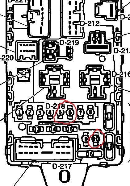 1999 mitsubishi montero sport fuse box  1999  free engine