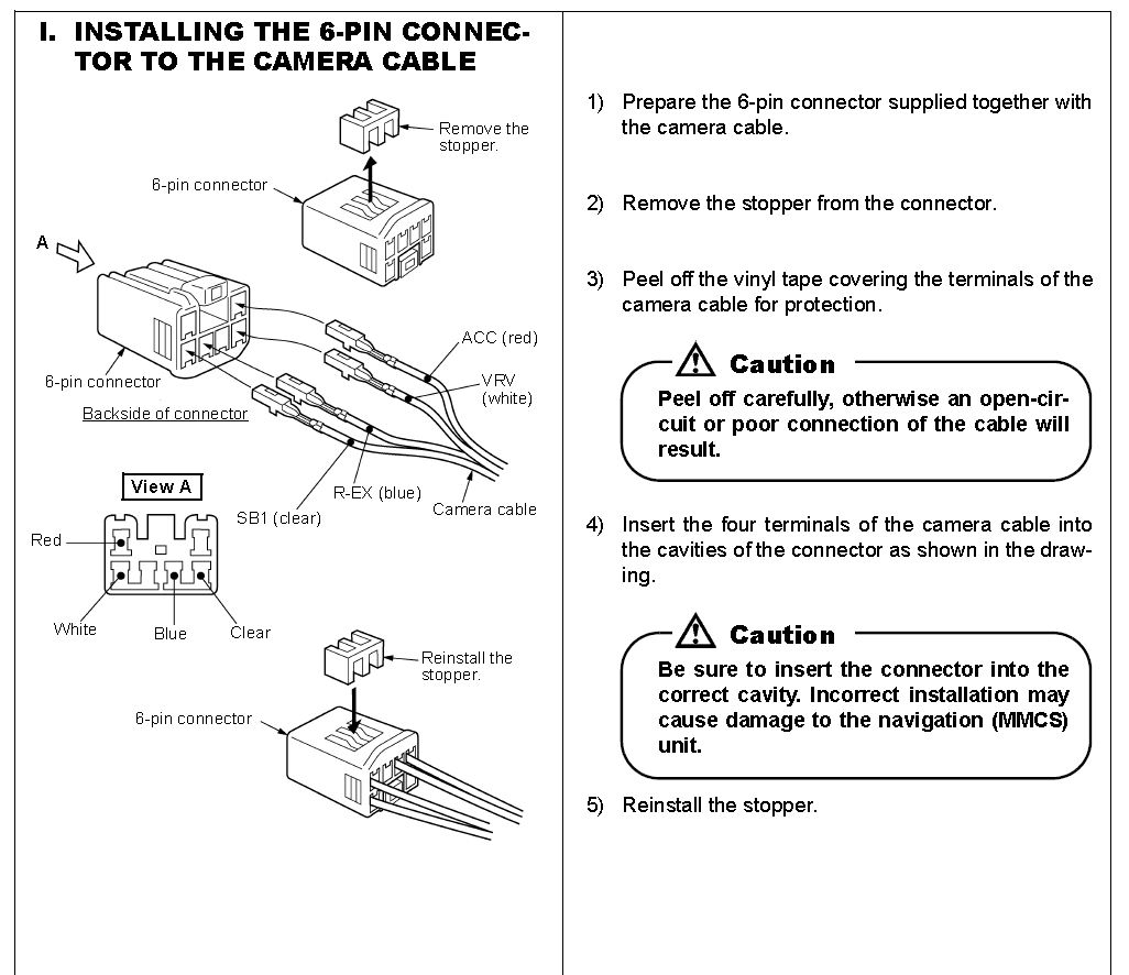2013 Mitsubishi Triton Radio Wiring Diagram : How do i remove the wires from a pin connector in my