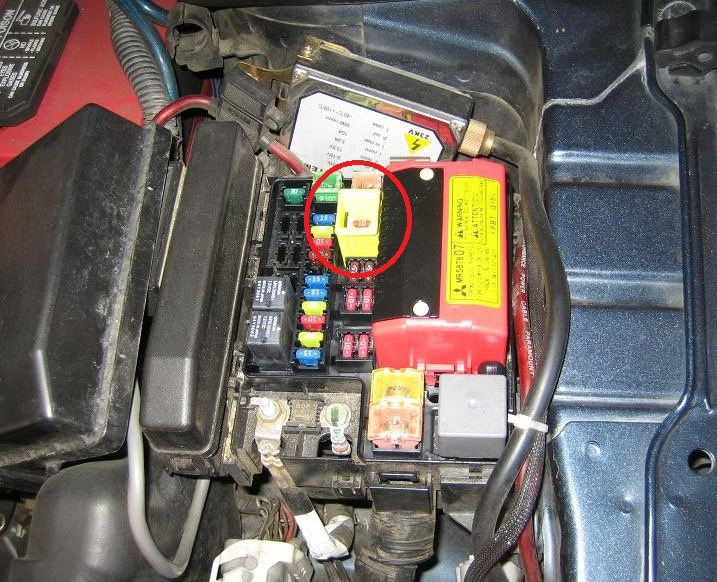 3000gt fuel pump relay location  3000gt  get free image