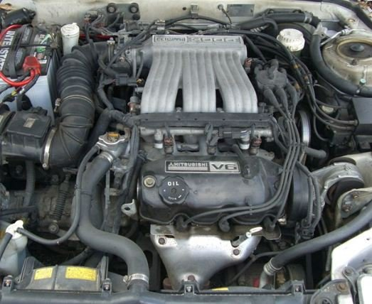 93 dodge stealth engine diagram