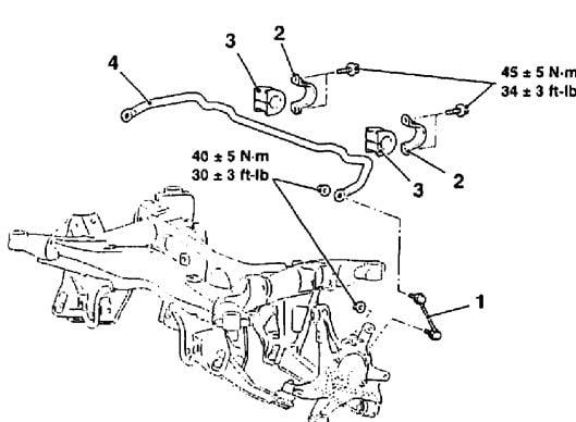 mitsubishi outlander xls rear suspension