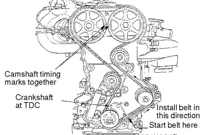 mitsubishi timing belt
