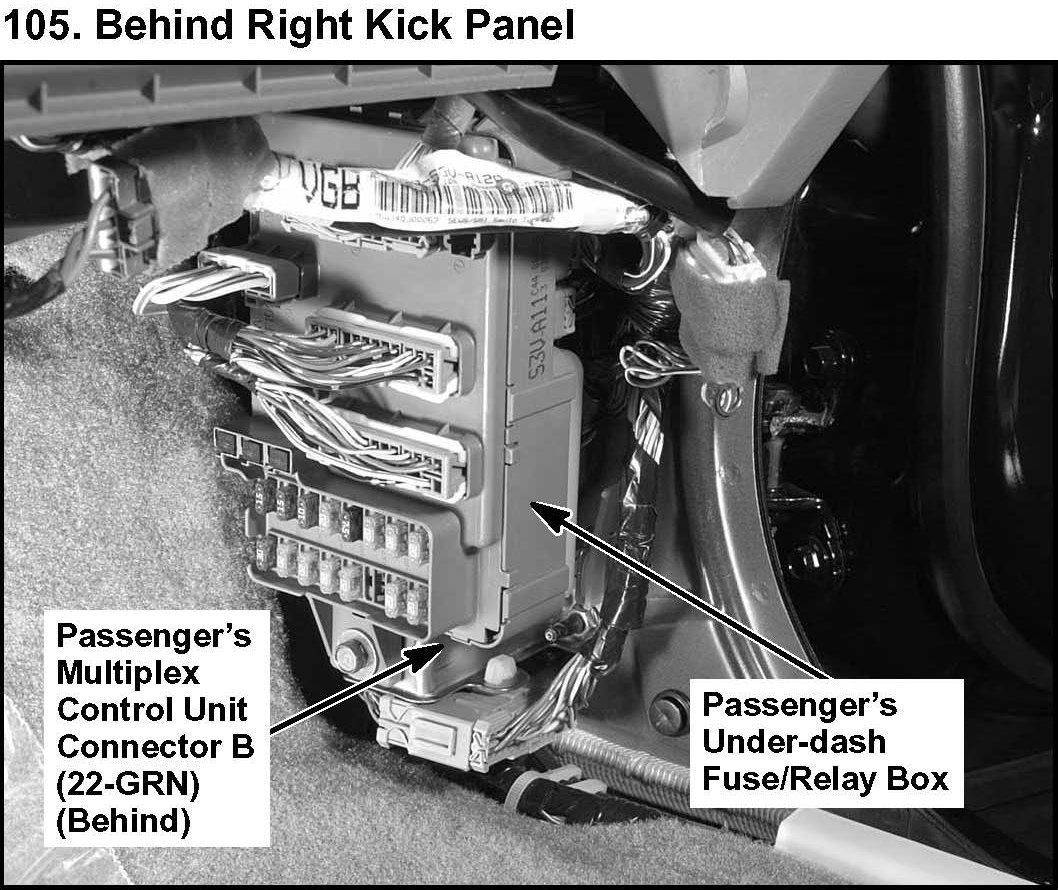 acura mdx the brake lights fuse box diagram under hood graphic