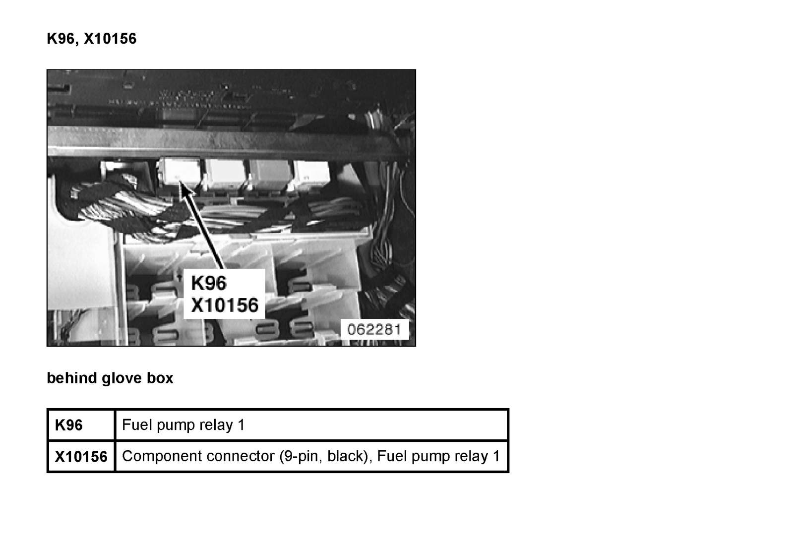 bmw e83 relay fuel pump location html autos post bmw e83 fuse box diagram