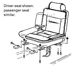 98 deville front driver seat removal. Black Bedroom Furniture Sets. Home Design Ideas