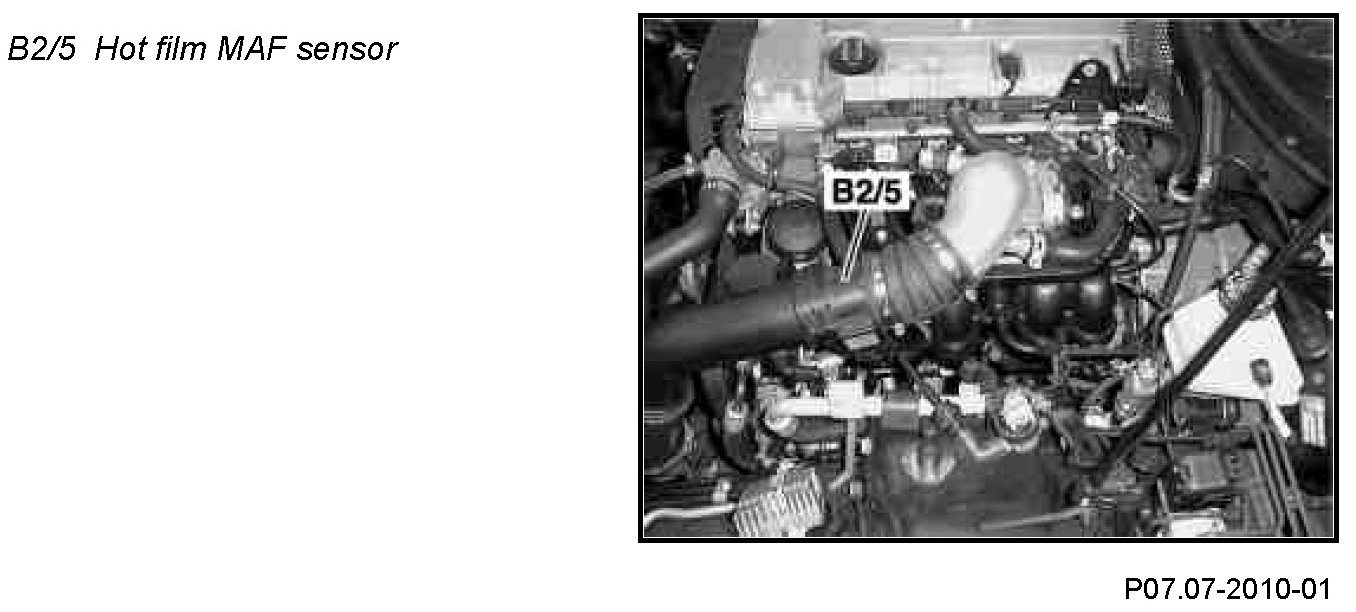 and mercedes benz slk 230 maf removal and cleaning youtube show the maf sensor near the headlights mine appears to be located at the top like so