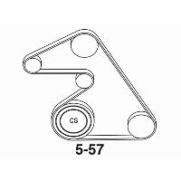 saturn astra xr can you provide a diagram for accessory drive