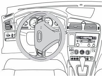 remove driverside airbag 2005 volvo xc90 s70 v70 front. Black Bedroom Furniture Sets. Home Design Ideas