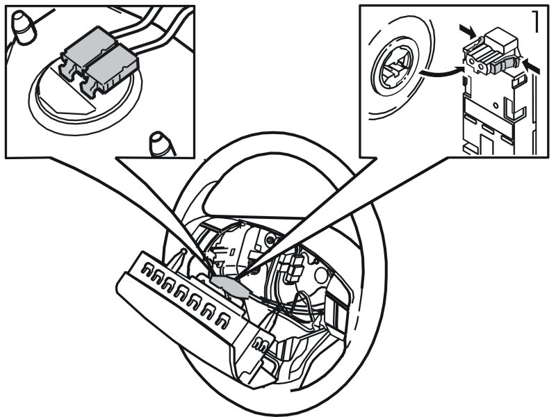 service manual  remove driverside airbag 2005 volvo xc90