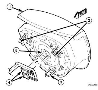 5bmqg P How Remove Airbag Module Cover Steering Wheel