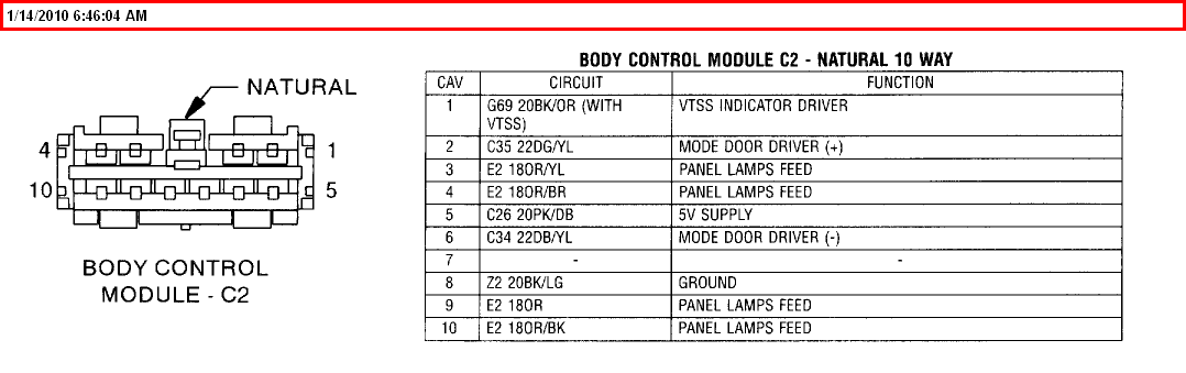 The Dash And Rear Lights Volt Ohm Meter Test Lgiht Wiring Diagrams