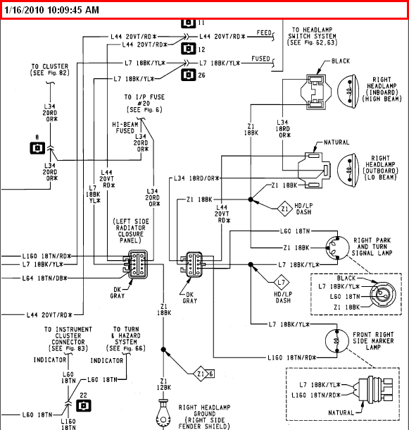94 Dodge Dakota Fuel Pump Wiring Diagram 94 Free Engine