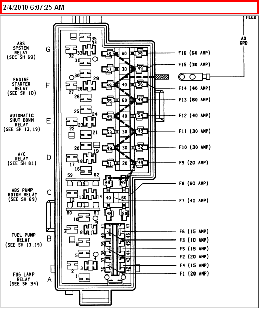 where is the fuse box on a 2007 jeep wrangler with Fuse Box Diagram For 1994 Jeep Grand Cherokee Laredo on 0ktei Looking Fuse Box Diagram 1993 Ford Tempo moreover Watch further Fuse Box Diagram For 1994 Jeep Grand Cherokee Laredo also 5ct0g Toyota 2005 Sienna Le 3 3 Replaced A C  pressor as well RepairGuideContent.