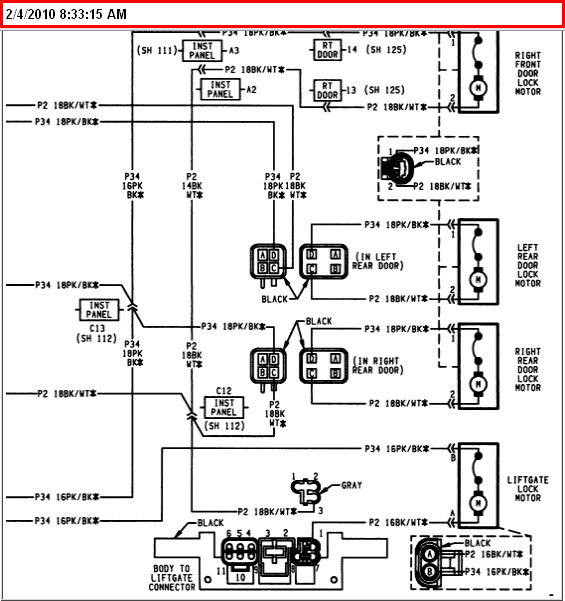 2000 jeep cherokee flasher location