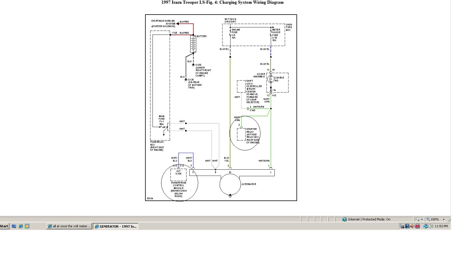 Charge Relay Wiring Diagram Isuzu Charge Home Wiring Diagrams – Isuzu Alternator Wiring Diagram