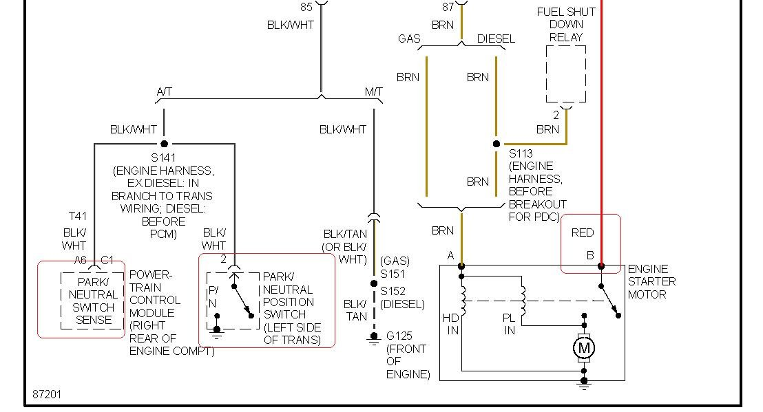 wiring diagram for 1997 dodge ram 1500