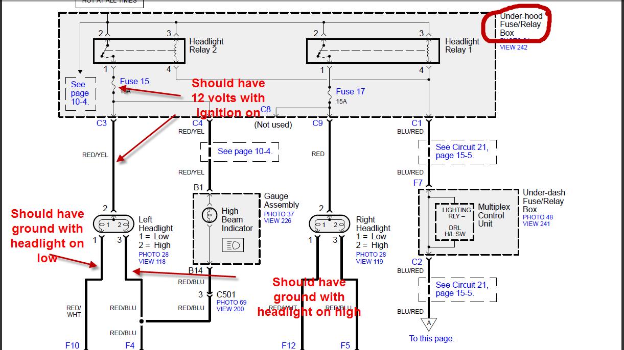 2004 honda accord headlight wiring 1988 honda accord headlight wiring