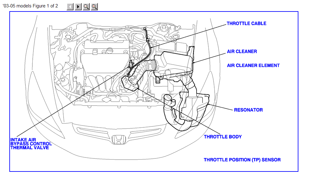Honda Accord Iat Sensor Location Get Free Image About