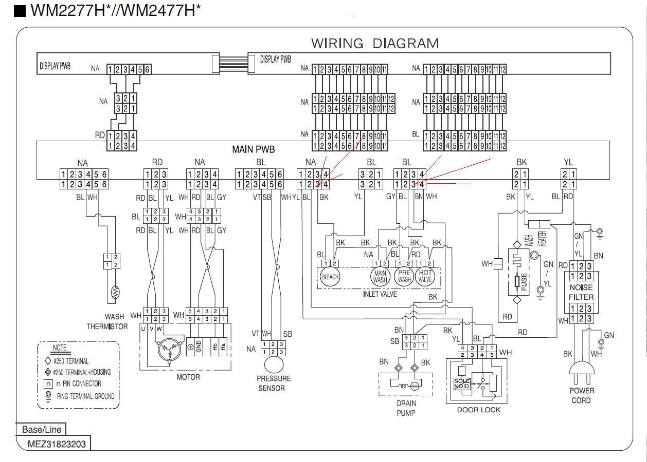 Washing Machine Schematic Wiring Diagram : Washing machine motor schematic diagram get free image