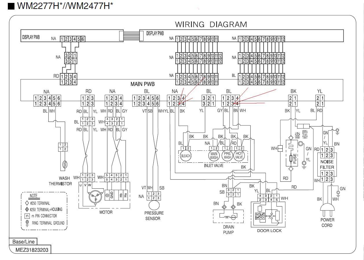 I Have An Lg Wm2277hw Washing Machine  I U0026 39 M Getting A Oe