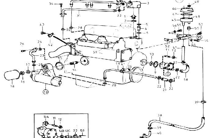 1976 volvo penta marine engine diagram