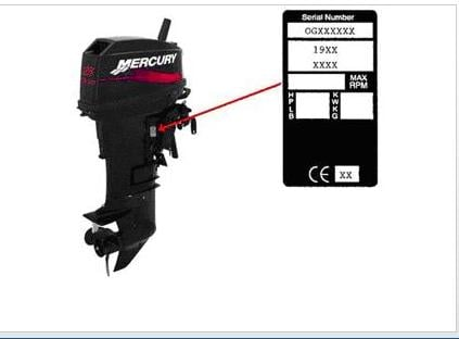 I have a mercury 200 20 hp sn 3540741 how can i find for Mercury motor serial number lookup