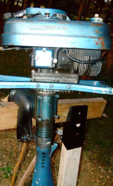 I have a 5 5 hp hanimex outboard motor model no 1965b it for Boat motor repair near me