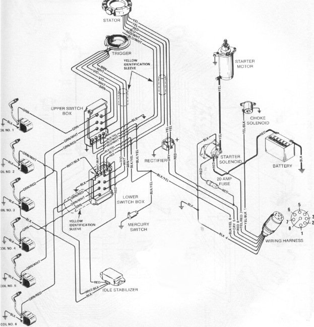 115 hp mercury outboard motor wiring diagram get free image about wiring diagram