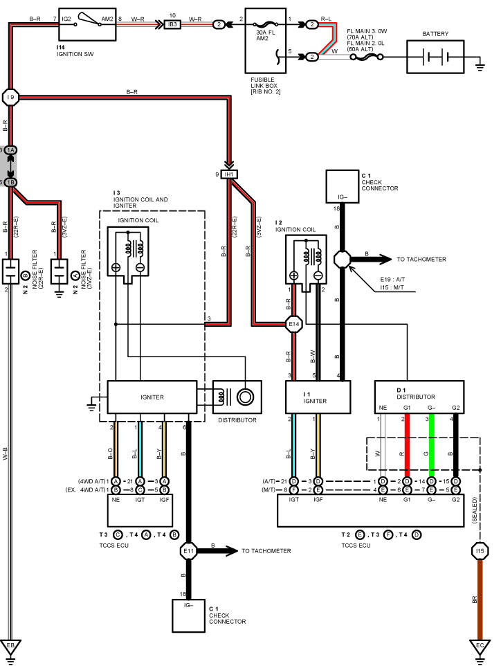 Toyota Igniter Diagram - Auto Electrical Wiring Diagram
