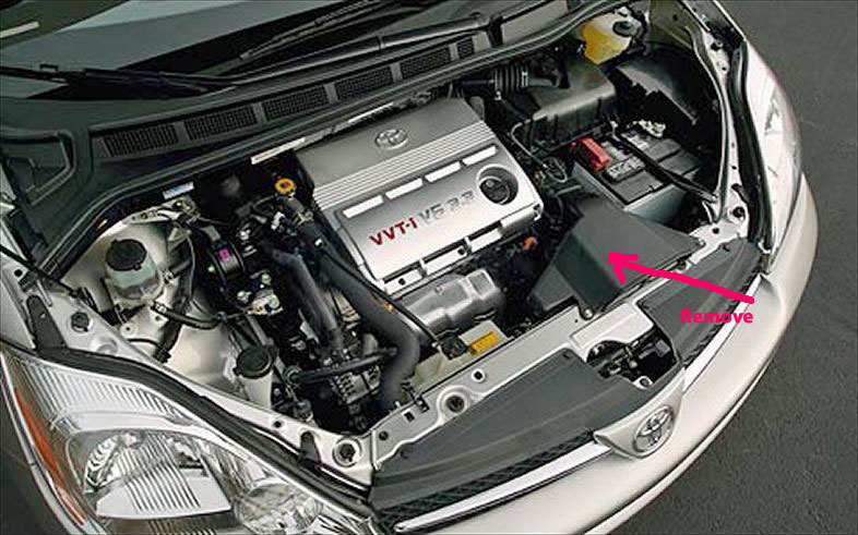 car starter location 2006 toyota sienna get free image about wiring diagram. Black Bedroom Furniture Sets. Home Design Ideas