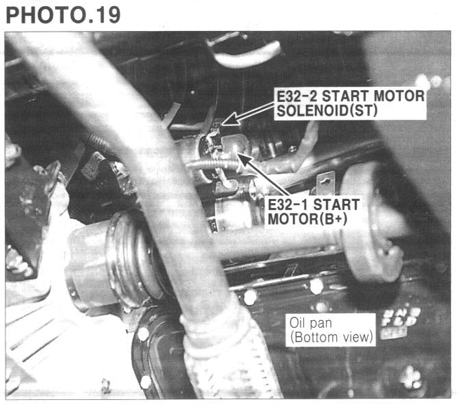 Service Manual How To Replace Starter On A 2009 Hyundai