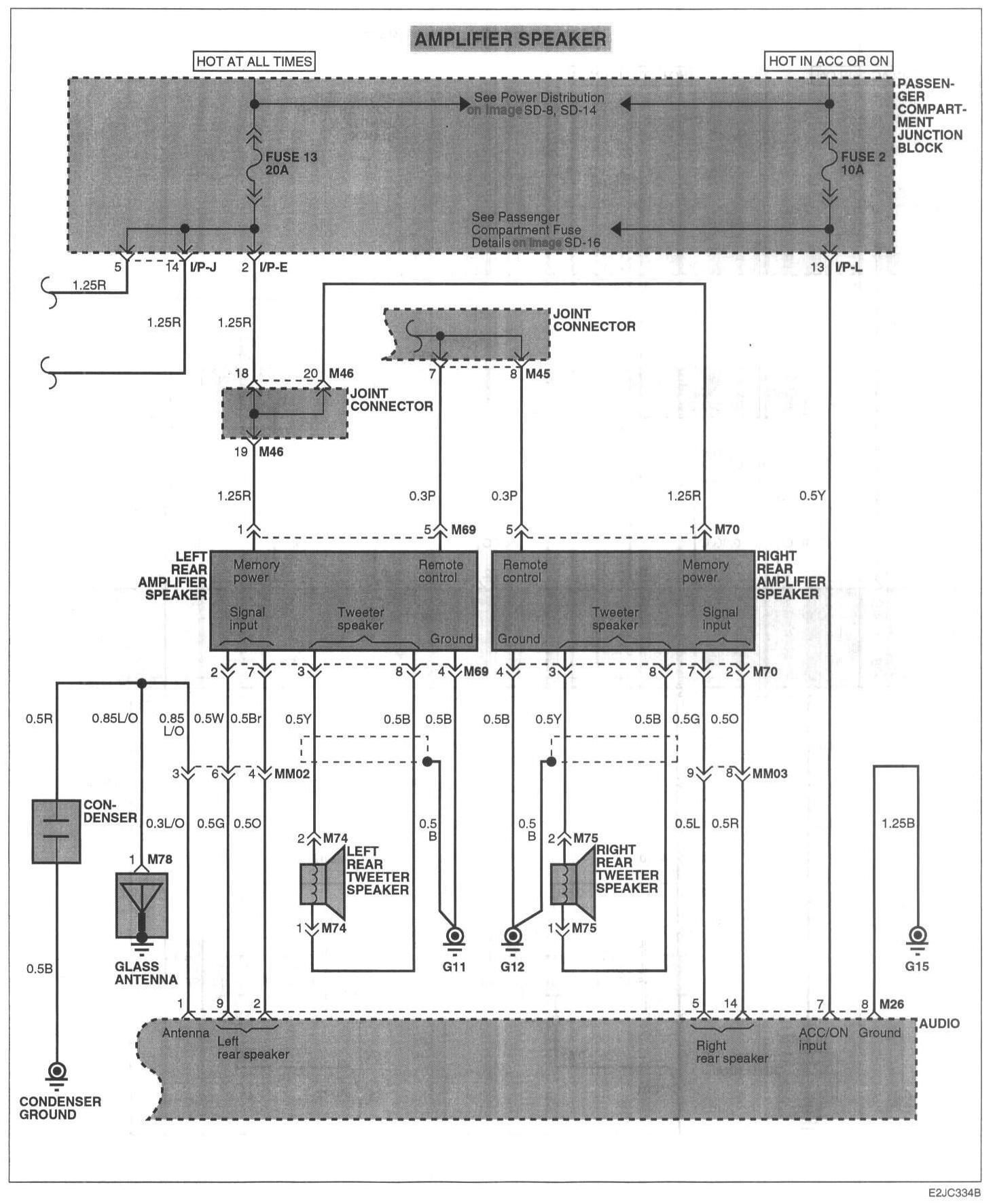 2002 Hyundai Accent Wiring Diagram - Facbooik.com