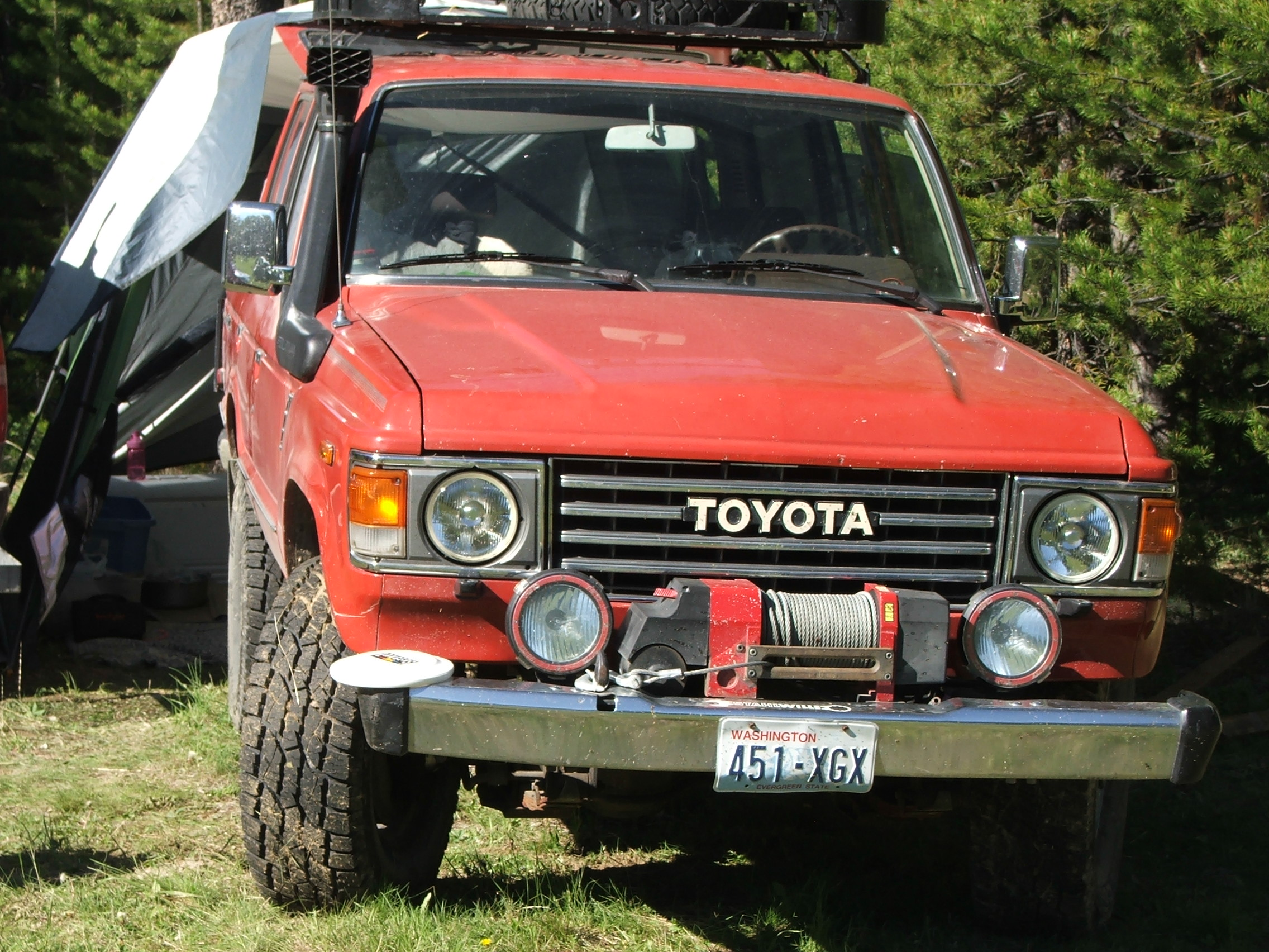 toyota landcruser i have tbi 350 and it will not start if this is my fj60 just reply when ready jason