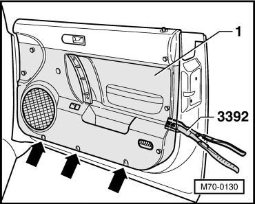 On my 2003 beetle convertible, the driver side window won't go up or down. It's stuck about 4 ...