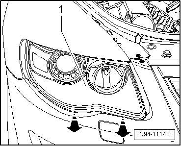 470tz Volkswagen Touareg Headlight Bulbs