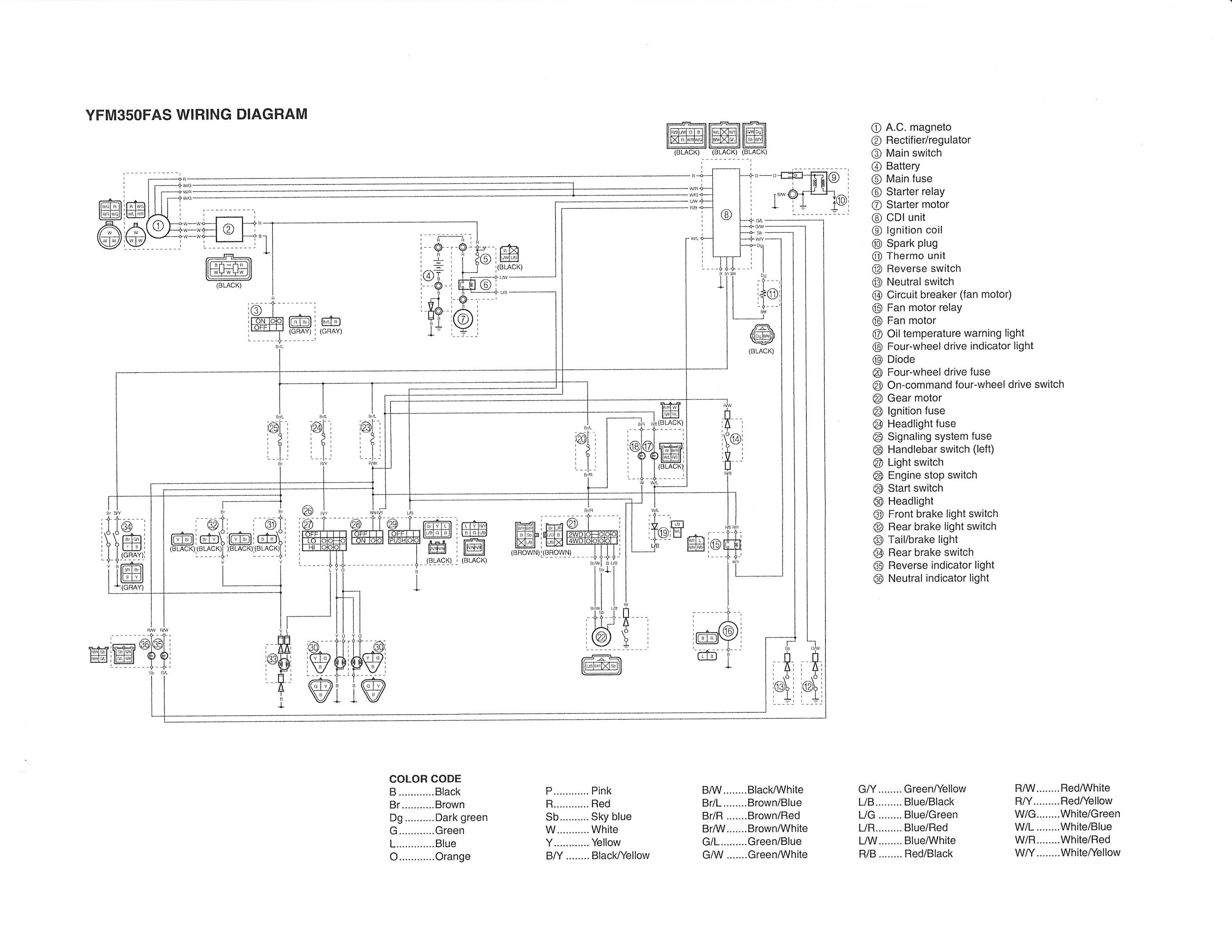 electrical schematic for polaris sportsman 500 ho