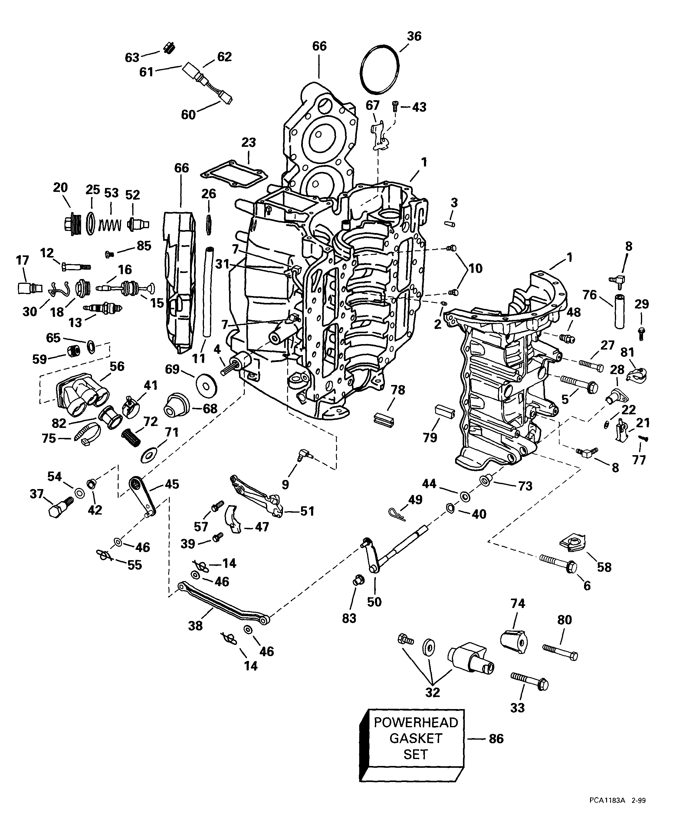 Outboard Motor Trim Cylinder Schematics furthermore 649258 1980 9 9hp Evinrude Kill Switch furthermore 371378585445 as well Outboardmotor further 4 stroke verado inline 6. on 90 hp force outboard wiring diagram