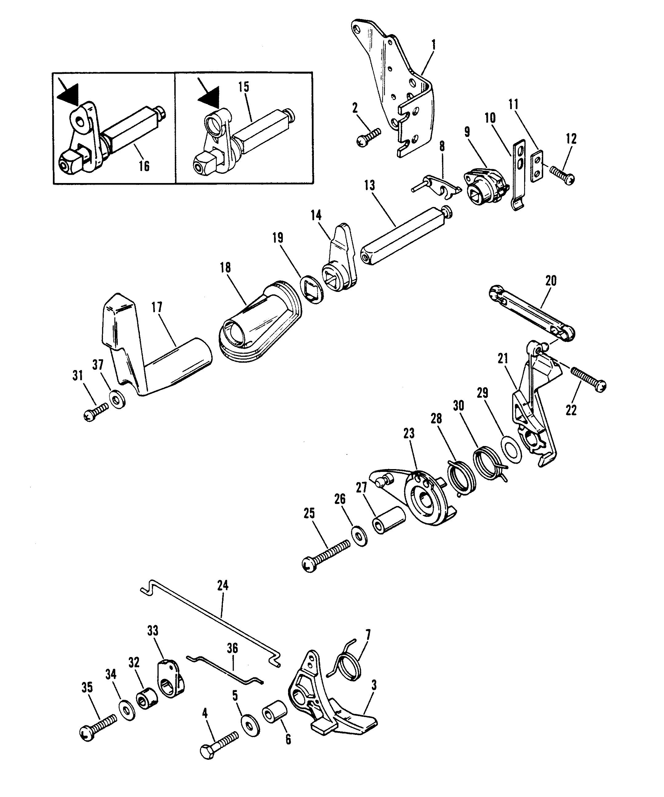 Mercury Outboard Throttle Control Diagram – name