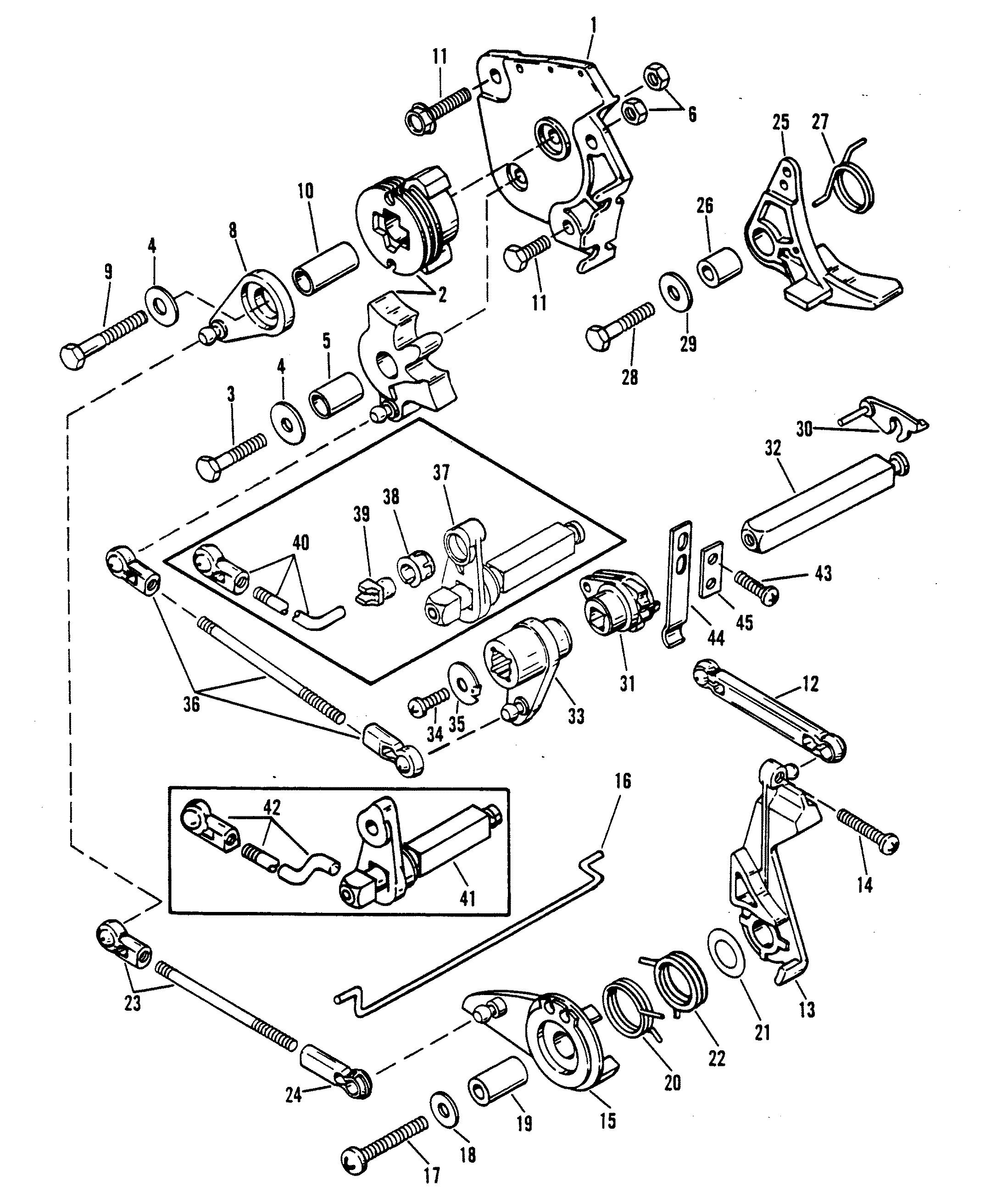 Mercury Lower Unit Wiring Diagram: Mercury Outboard Motor Parts Diagram