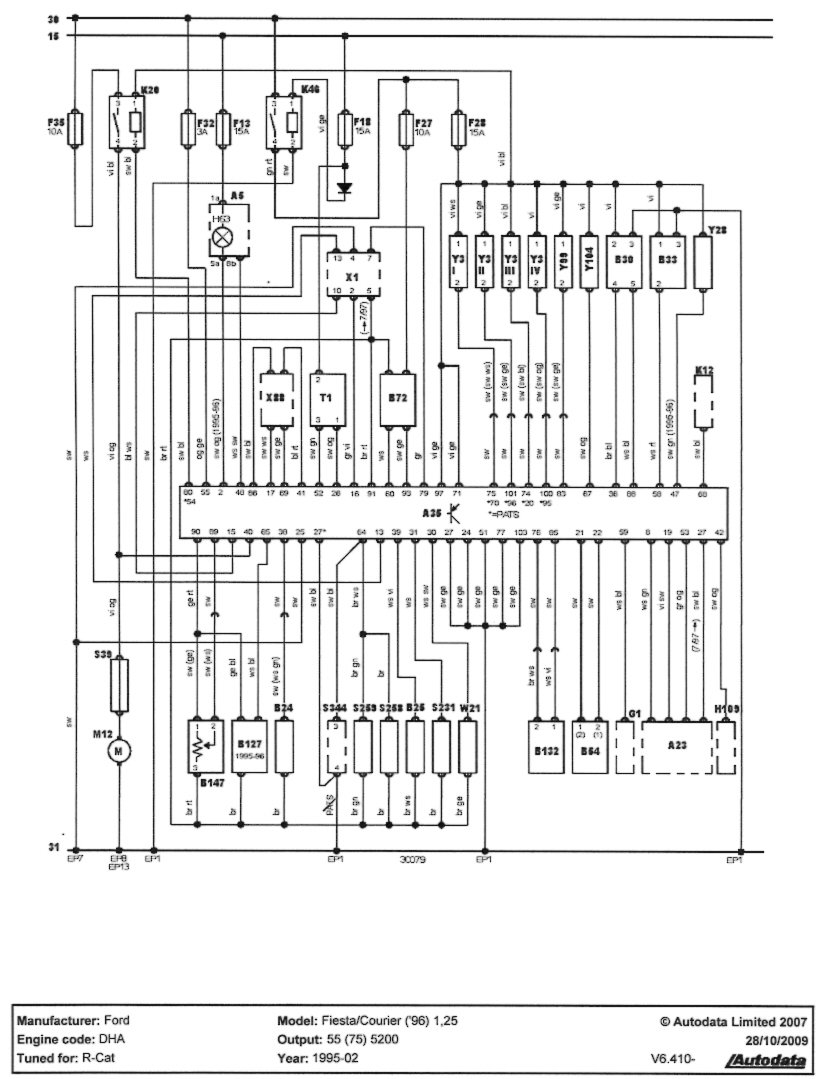 Ford Fiesta Rs Turbo Wiring Diagram
