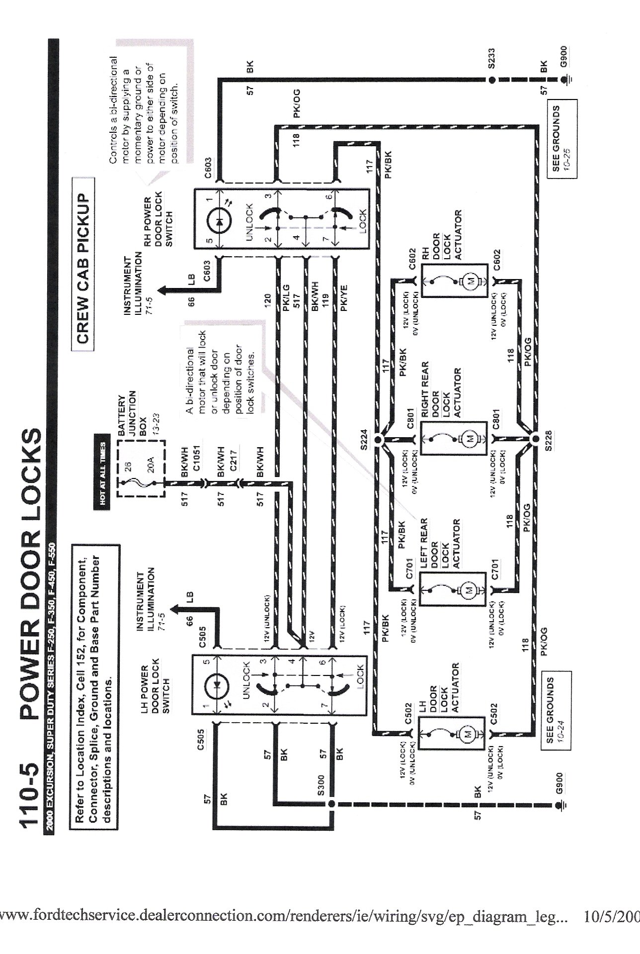 1989 ford ranger door lock wiring diagram ford f350 door lock wiring diagram #3